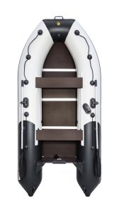 Лодка ПВХ Ривьера 3400 СК компакт надувная под мотор