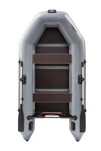 Лодка ПВХ Пиранья 245 М3 SLХ надувная под мотор