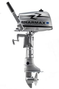 Лодочный мотор Шармакс (Sharmax) SM5HS (5 л.с., 2 такта)