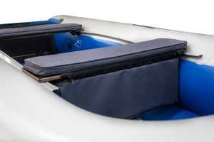 Фото мягкой накладки с сумкой (верх ткань) (80 см)