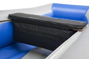 Фото мягкой накладки с сумкой (верх пвх) (60 см)