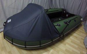 Фото носового тента на лодку Stormline Adventure Standard 340