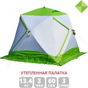 Фото Зимняя палатка Лотос Куб 3 Классик Термо