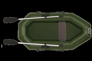 Лодка ПВХ Фрегат М-1 (200 см) с веслами надувная гребная