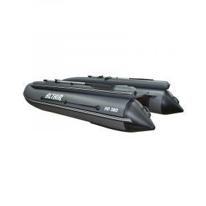 Лодка ПВХ Альтаир HD 380 НДНД с фальшбортом надувная под мотор