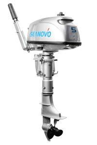 Фото мотора Seanovo SN5FHS с баком (5 л.с., 2 такта)
