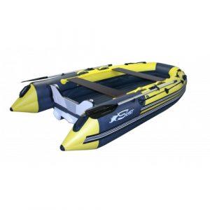 Фото лодки REEF Skat 350 S НД пластиковый транец